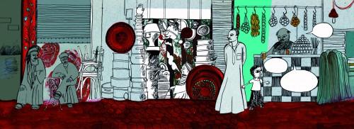 Pade intérieure de La roue de Tarek, Mathilde Chèvre
