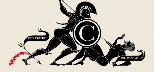 """The Battle of Copyright"" par Christopher Dombres."