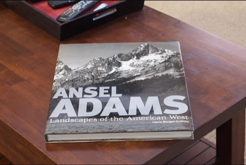 Couverture du livre d'Ansel Adams