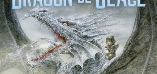 Couverture de Dragon de glace, George R. R. MARTIN, Flammarion, 2015.