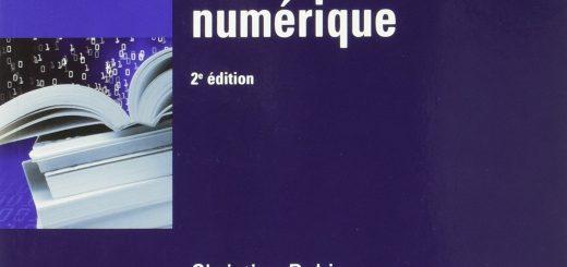 Couverture de : Les livres dans l'univers numérique [2e édition], Christian ROBIN, La documentation Française, coll. « Les études », 2016.