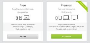 Spotify Freemium Plans