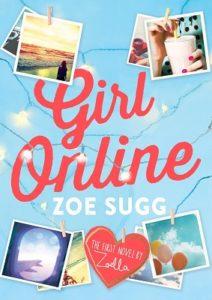 Couverture de Girl_Online de Zoe Sugg alias Zoella baux éditions de la Martinière