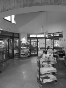La petite bibliothèque ronde à Clamart