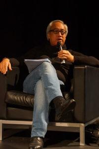 Photographie de l'écrivain maori Witi Ihimaera en octobre 2012. Source : Wikimedia commons, CC 2.0.